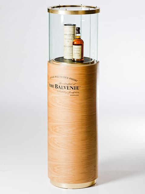 Balvenie whisky presentation