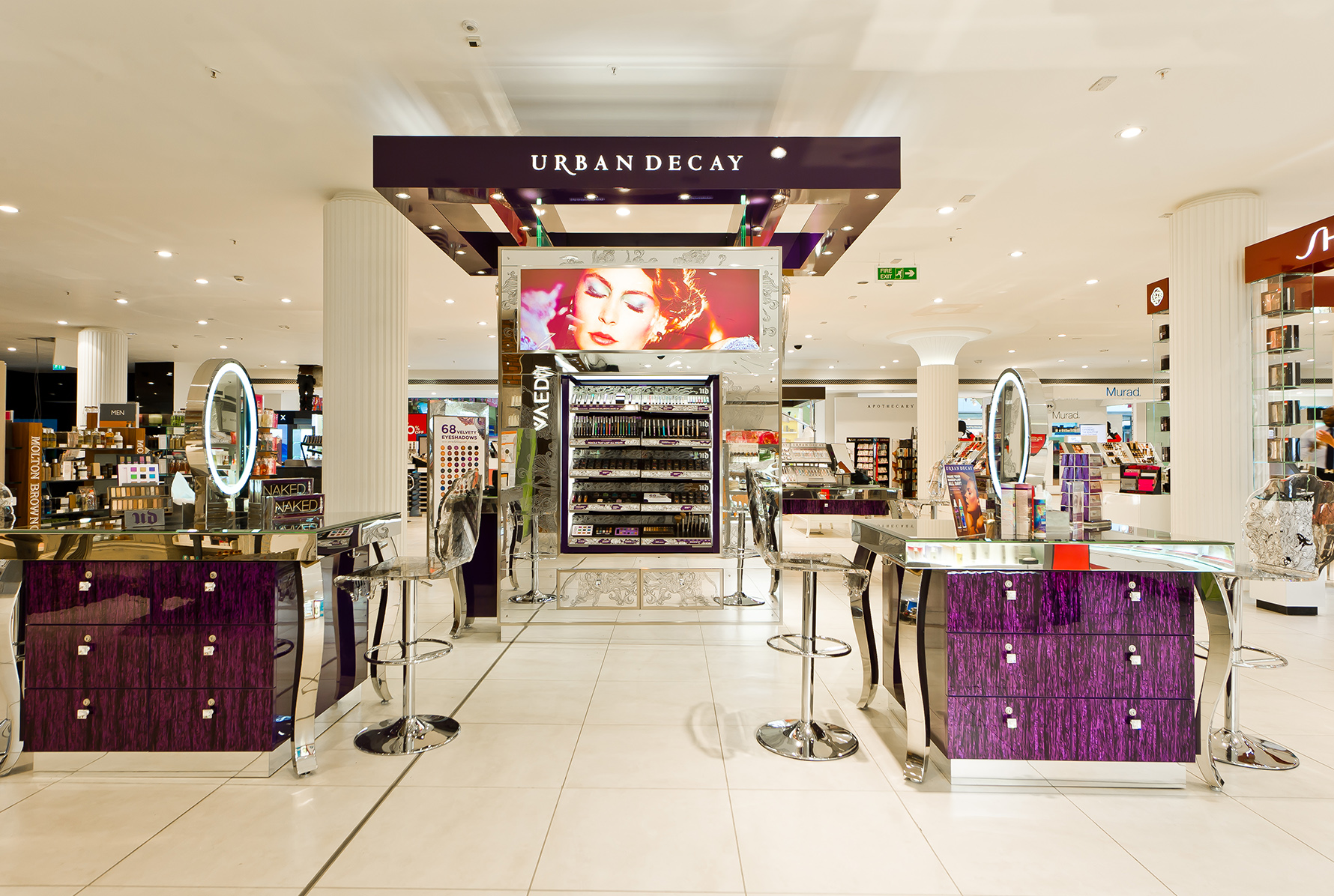 Urban Decay in House of Fraser - London