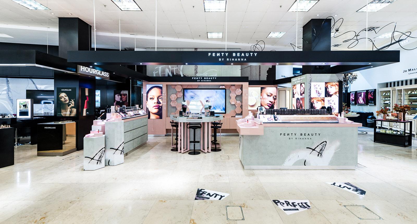 Fenty Beauty Interior Design Final Result