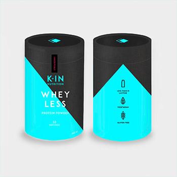 Whey Less Protein Powder 1KG Design