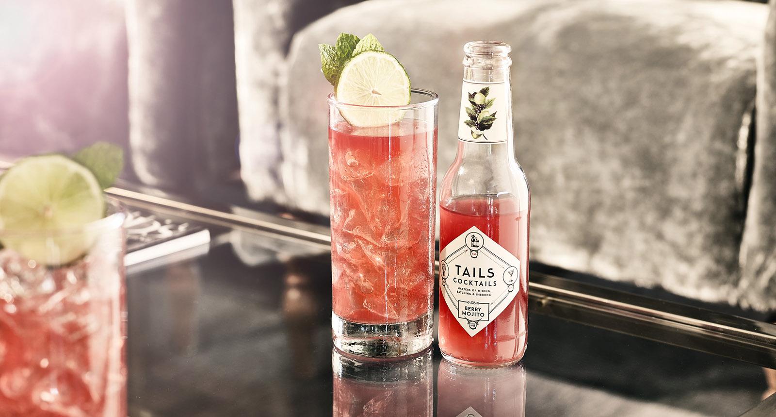 Tails Berry Mojito