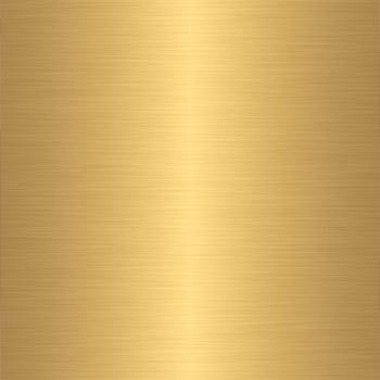 Metal - gold brass polished finish