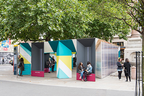 London Design Week – Hassel and Arup Breathing Space
