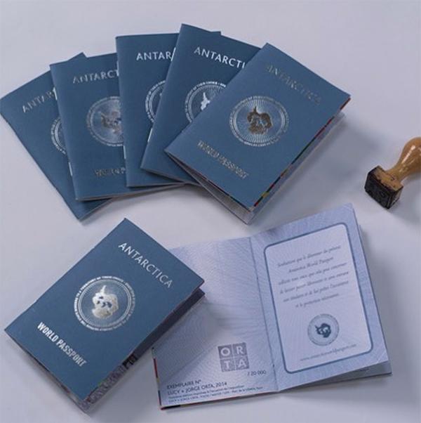 Antarctica World Passport