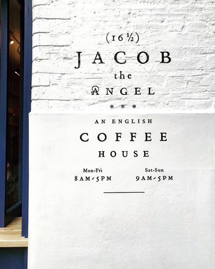 Jacob the Angel, an English Coffee House