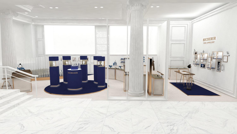 Bucherer in Selfridges - Final Concept Design
