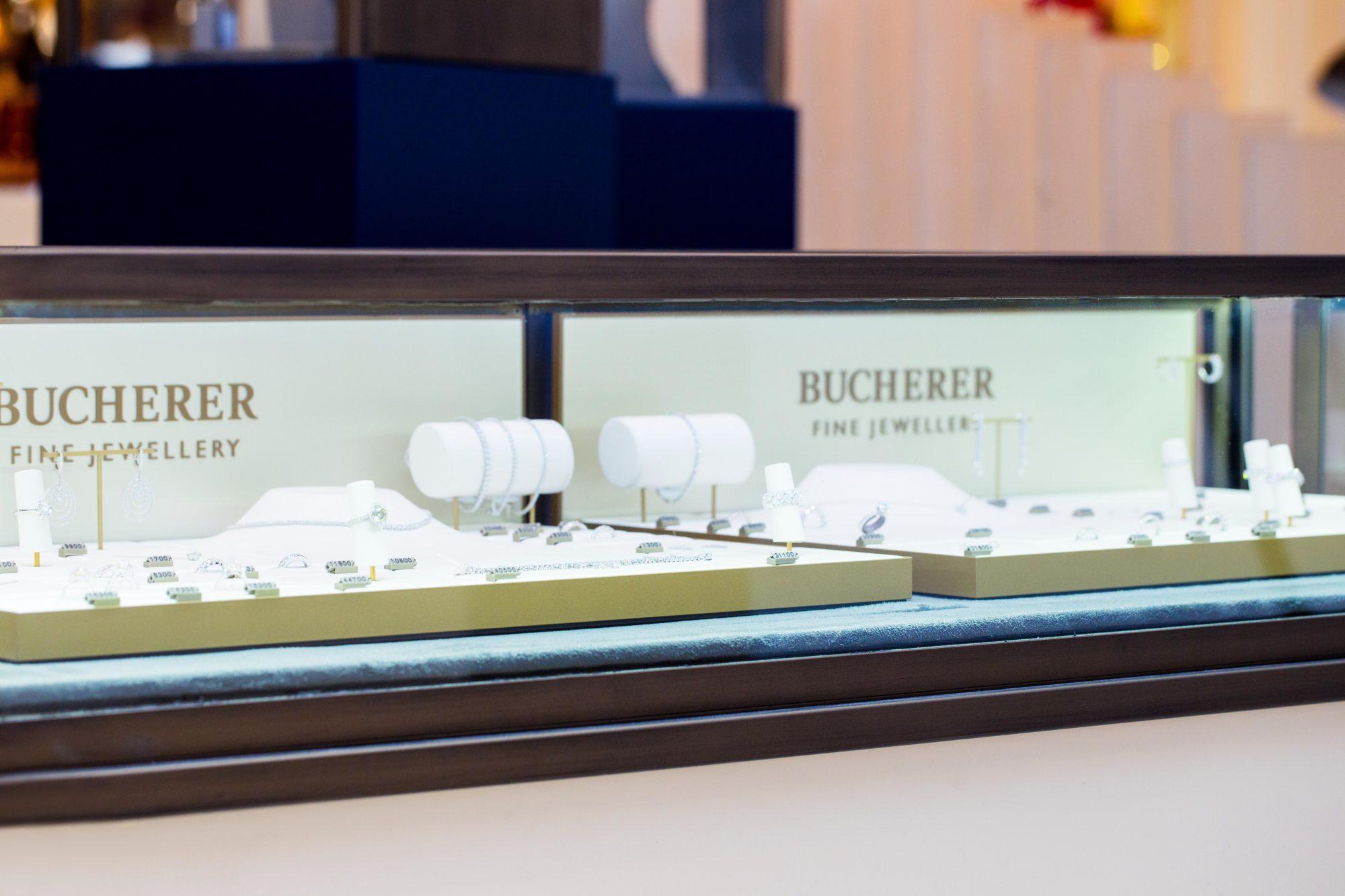Bucherer Jewellery Retail Design