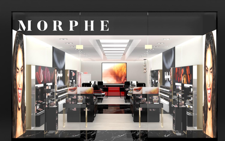 Morphe Interior Shop Design
