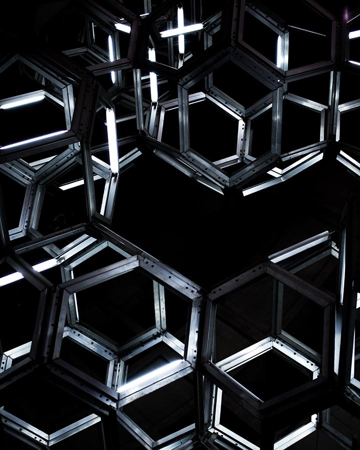 hexagon wallpaper 2