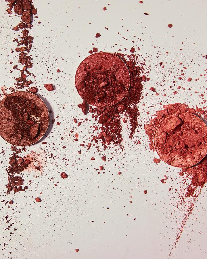 broken powders
