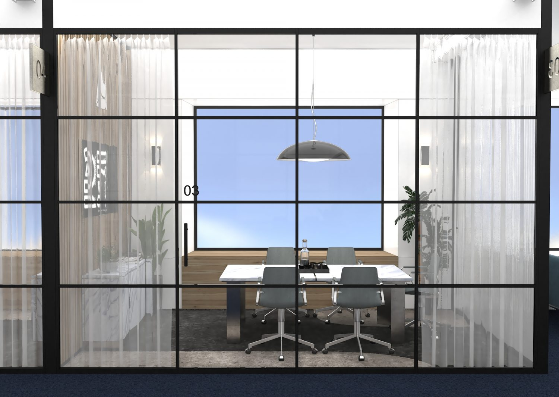 Sheridan&Co Luxe Lounge Meeting Room Interior Design
